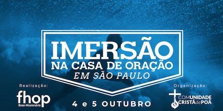 WORKSHOP IMERSÃO FHOP EM SP ingressos