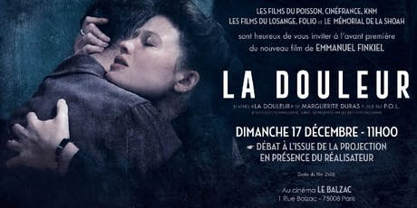 Tuesday French Movie Night: La Douleur billets