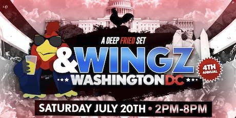 &Wingz x D.C. 4 tickets