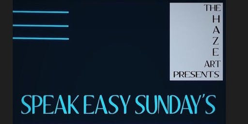 Speak Easy Sunday Winston-Salem