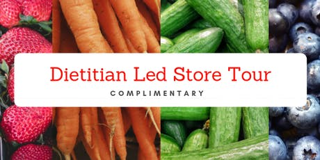 Heart Health - Dietitian Led Store Tour tickets