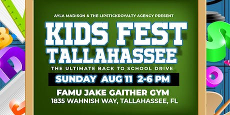 Kids Fest Tally - Back to school drive  tickets