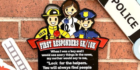 Now Only $10! First Responders 5K & 10K - Boston tickets