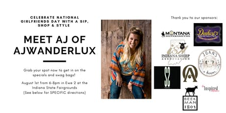 VIP Sip and Shop with Influencer AJwanderlux tickets