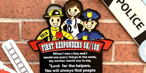 Now Only $10! First Responders 5K & 10K - Grand Rapids