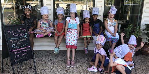 Kids In The Kitchen 1/2 Day Camp: Flavors From Around The World