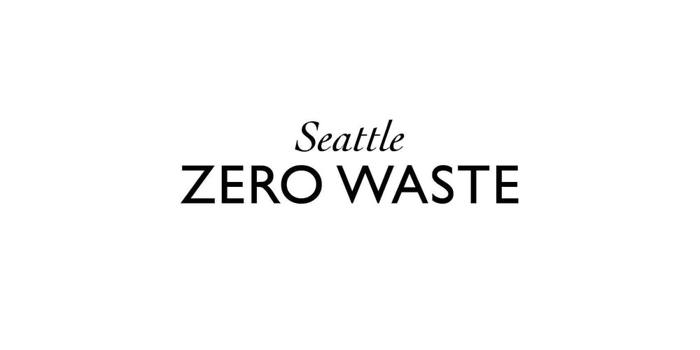 Seattle Zero Waste Meetup Tickets, Wed, Sep 18, 2019 at 6:00