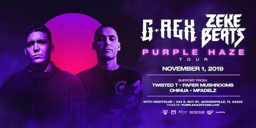 We The Plug Presents: G-REX & ZEKE BEATS Purple Haze Tour at Myth 11.01