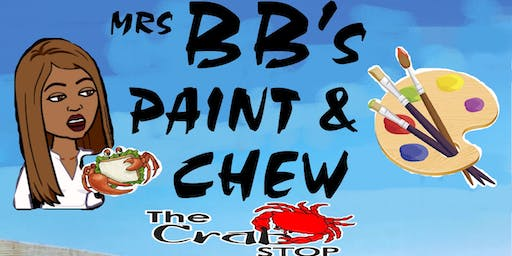 MrsBB's Paint & Chew w/DJ Cue and JTheeCreative