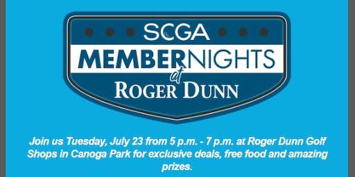 SCGA Member Nights: Roger Dunn - Canoga Park