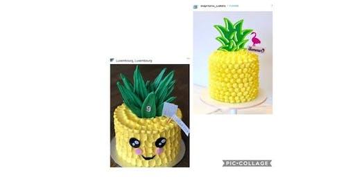 Pineapple Cake Decorating Workshop