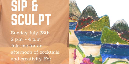 Sip & Sculpt with Angie!