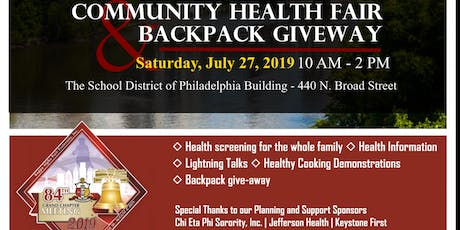 Kappa Conclave Health Fair & Community Service Event tickets