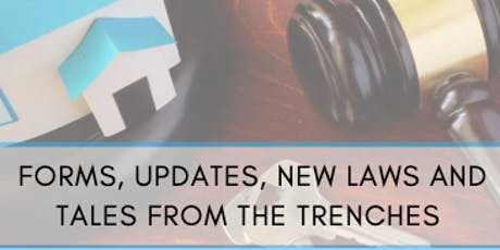 Forms Updates, New Laws and Tales From The Trenches tickets