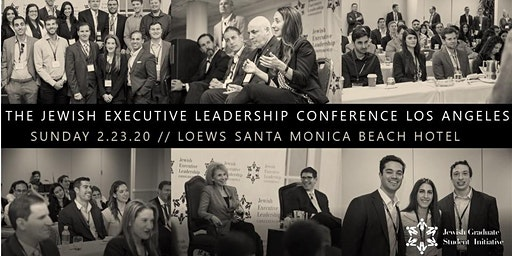 The 2020 Jewish Executive Leadership Conference San Francisco