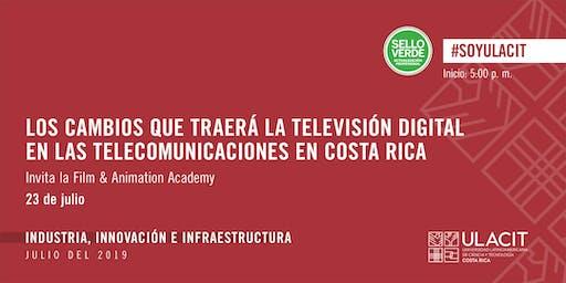 SELLO VERDE: Los cambios que traerá la televisión digital en las telecomunicaciones en Costa Rica