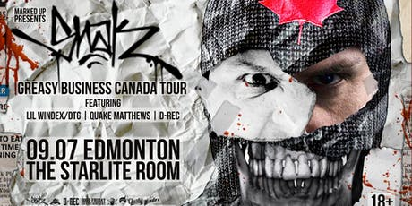 Snak The Ripper's 'Greasy Business Canada Tour' tickets