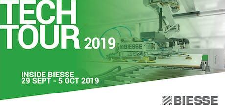 Inside Biesse Tech Tour 2019 biglietti