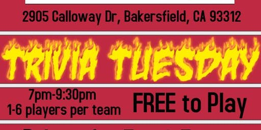 Trivia Tuesday at Firehouse Rosedale Station