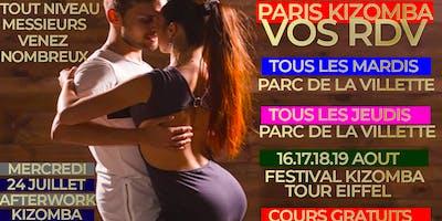 AGENDA KIZOMBA A PARIS ETE 2019