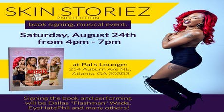 Skin Storiez Celebrity Tattoo Book Release and Live Event! tickets