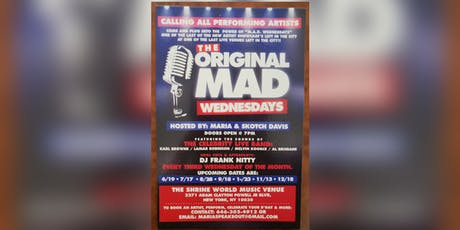 """Mad Wednesday's"" tickets"