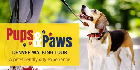 Pups & Paws Denver Walking Tour tickets