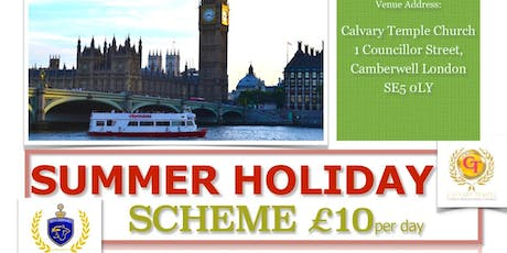 Summer Activities - Calvary Temple & South London Kings Football Club tickets