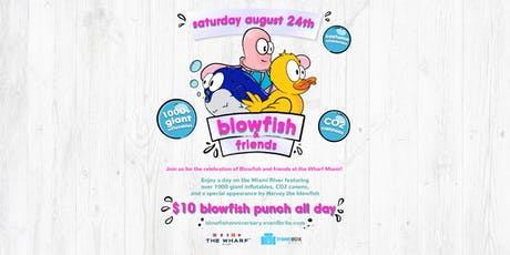 "Blowfish & Friends: ""Miami's Biggest Inflatable Extravaganza!"" tickets"