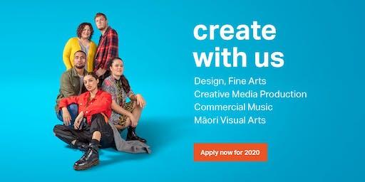 Design and Fine Arts Portfolio Reviews At Massey Open Days -  Manawatu, Wellington, Auckland