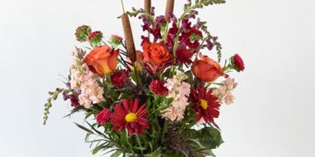Community Class: Fall Floral Design Class - Tall Vase Arrangement tickets