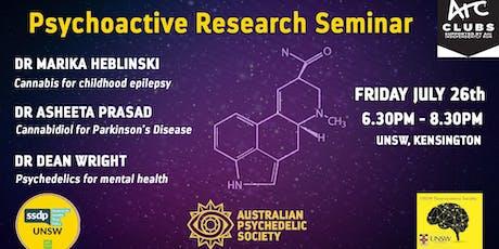 Psychoactive Research Seminar Series tickets