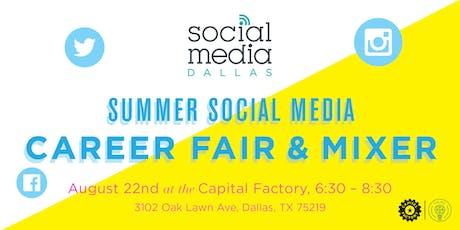 Summer Social Media Career Fair & Mixer tickets