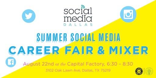 Summer Social Media Career Fair & Mixer