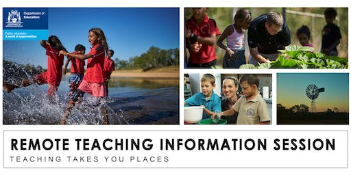 Remote Teaching Information Session - 31 July 2019