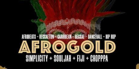 AFROGOLD FRIDAYS @ AMBIANCE LOUNGE SACRAMENTO tickets