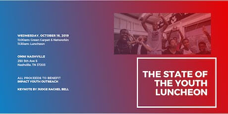 The State of the Youth Luncheon tickets
