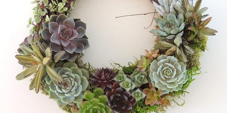 Community Class:  Succulent Wreath - October 8th tickets