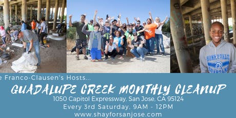 Guadalupe Creek Monthly Cleanup tickets