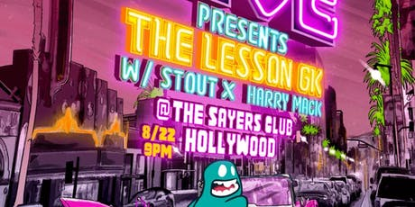 Sayers Presents 'The Lesson GK' tickets
