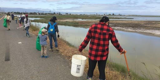 Coastal Cleanup Day @ the Wildlife Refuge! ALVISO