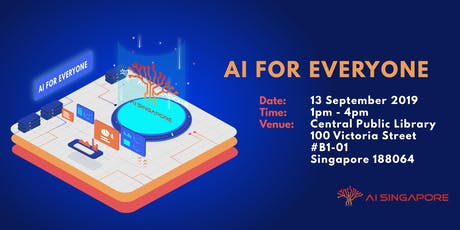 AI for Everyone (13 September 2019) tickets