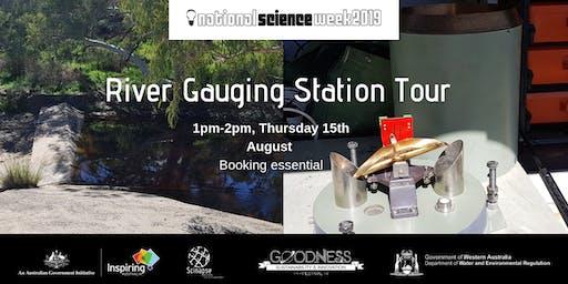 River Gauging Station Tour