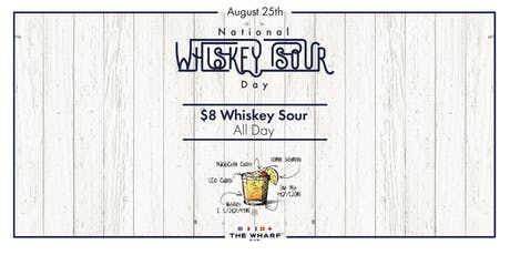 National Whiskey Sour Day Celebration tickets