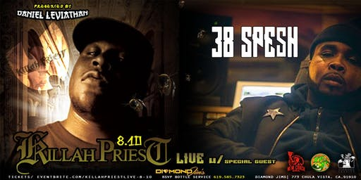 killah priest LIVE w/ special guest 38 spesh