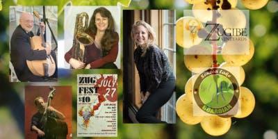 Ellen Kaye Band Joins ZugFest @Zugibe Vineyards 7/27/19