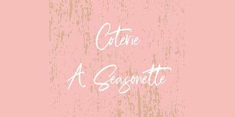 Coterie Seasonette - Sewing Fundamentals tickets