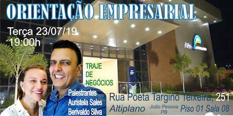 Orientação Empresarial Amway João Pessoa - PB ingressos