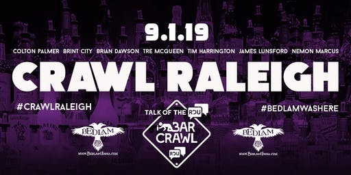 CRAWL RALEIGH LABOR DAY WEEKEND BAR CRAWL