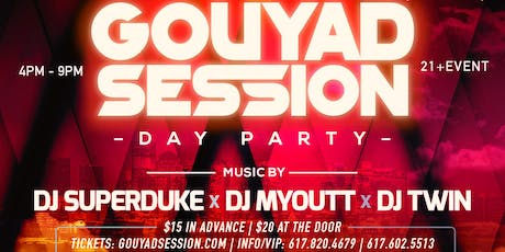 Gouyad Session: Day Party tickets